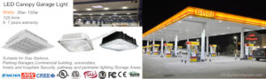 LED Canopy Garage Light