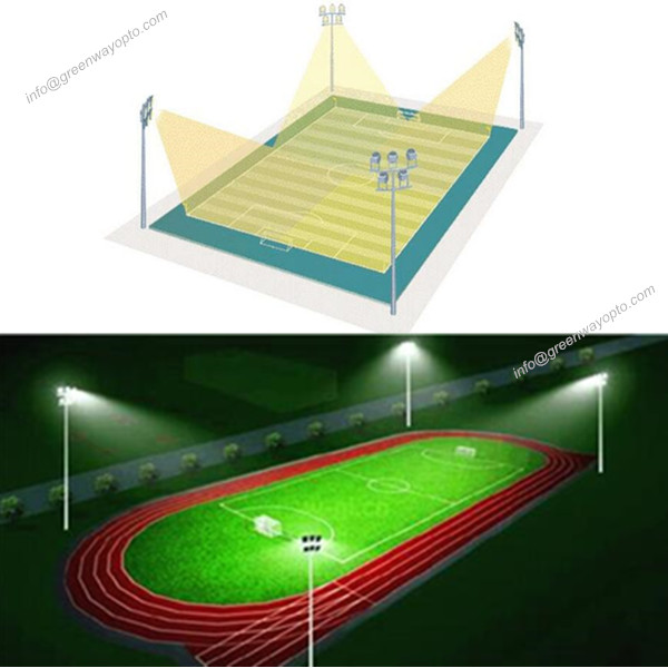 Football field lighting