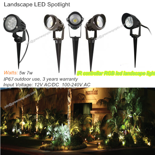 LED landscape light 5W 7W