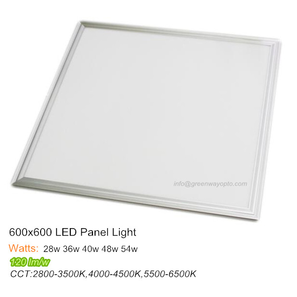 Super bright LED ceiling panel light 600×600