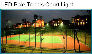 LED Pole Tennis Court Light Project
