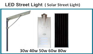 Solar Street Light, all in one solar Street Light, LED Light