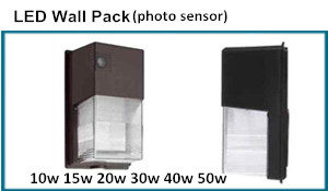 photo sensor LED Wall Pack