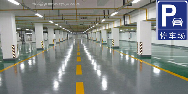 underground parking Lighting Design Tubes