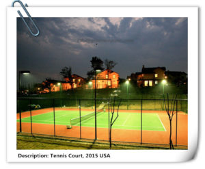 tennis court lighting-greenwayopto